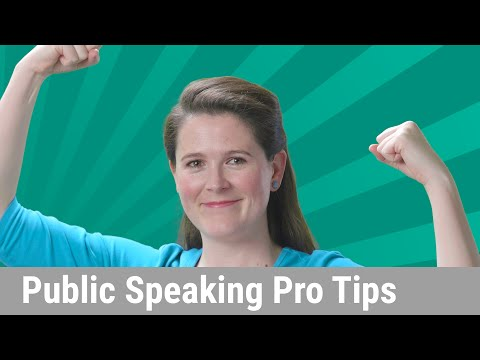 Public Speaking Pro Tips (Confident & Comfortable Presentations) - UC_x5XG1OV2P6uZZ5FSM9Ttw
