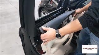 Smontare pannello portiera Mercedes C W205 da 2014