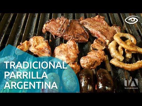 Tradicional parrilla argentina - Día a Día - Teleamazonas - UCqKWW2JMaQ0lVmnoR0bfaDA