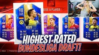 THE HIGHEST RATED BUNDESLIGA FUT DRAFT!! FIFA 19 ULTIMATE TEAM