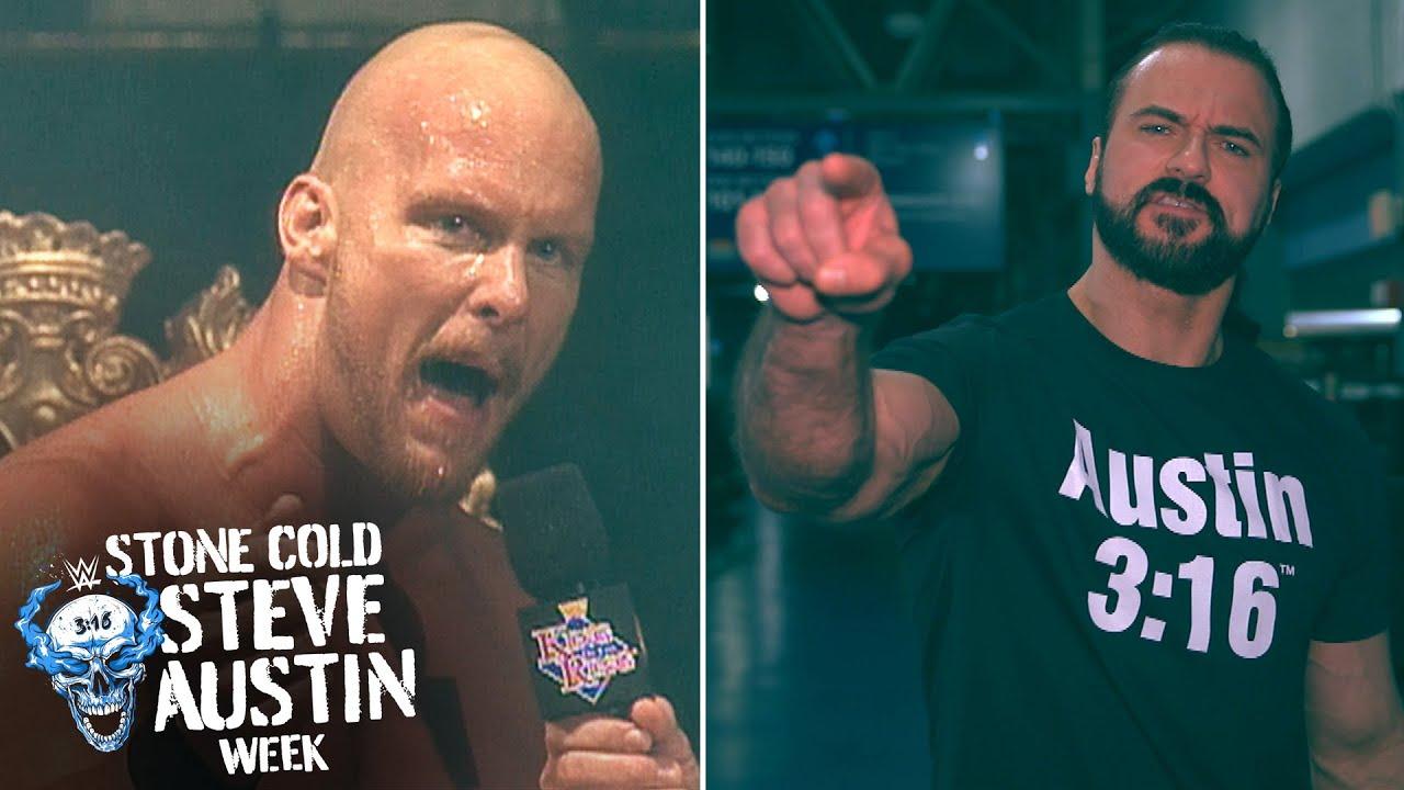 "Superstars reenact ""Stone Cold's"" iconic ""Austin 3:16"" speech"