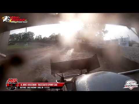 4L Mike Houseman   Eagle Raceway   7-17-21 - dirt track racing video image