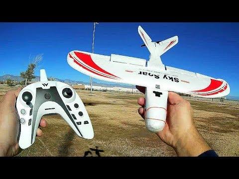 Attop P01 Sky Soar 3 Channel RC Airplane Flight Test Review - UC90A4JdsSoFm1Okfu0DHTuQ