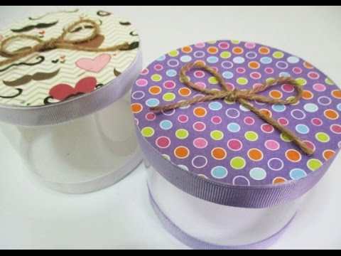 DIY : #98 Gift Box From RECYCLED Plastic Bottle ♥ - UC1Mgvc83WpC-Eb2M_HtkNFQ