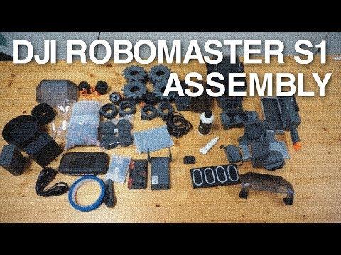 DJI RoboMaster S1 Build Video - UC_LDtFt-RADAdI8zIW_ecbg