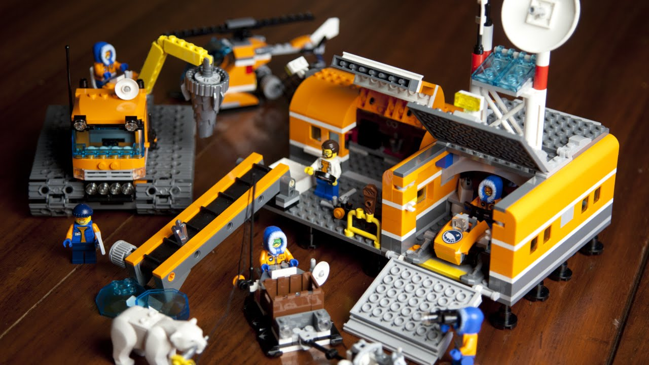 Lego City 60036 Arctic Base Camp Unboxing Build Review F