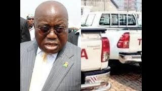 (BREAKING NEWS) A.rmed Robbers s.natched Akufo Addo's 4x4 Pickup