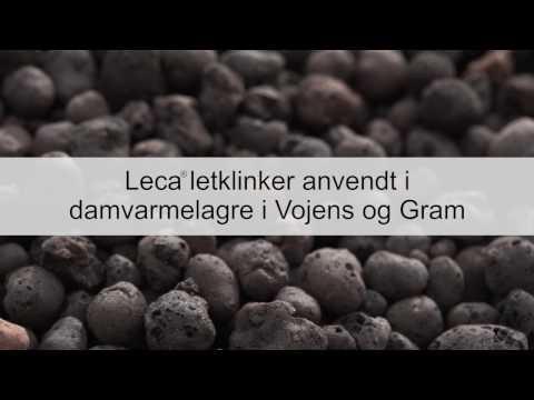 Varmelager med Leca® Heat Cover