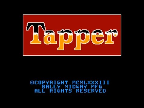Tapper (c) 2021 p/ Commododre Amiga - RETROJuegos