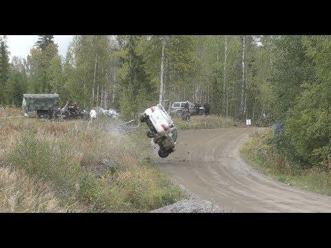 Jari-Pekka Ralli 2019, Heinola. (crash & action)