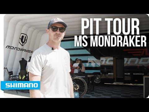 Pit Tour - MS Mondraker Racing with Brook Macdonald | SHIMANO