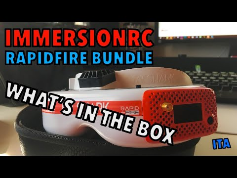 ImmersionRC RapidFire Bundle - What's in the box [ITA] - UCTvBN4mcxynKWKFbI6z_x3w