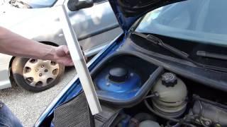 Cambiare filtro aria abitacolo Peugeot 206