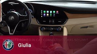 Alfa Romeo Giulia – Apple CarPlayintegration for iPhone