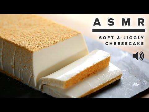 ASMR: Soft & Jiggly Cheesecake ? Tasty