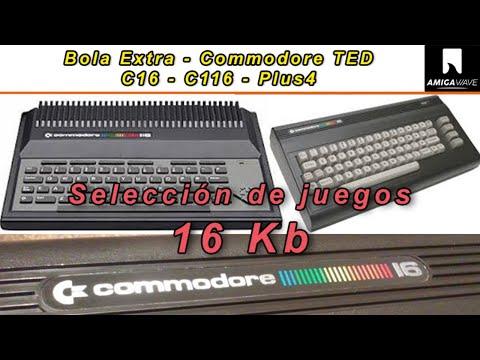 Bola Extra - Selección de juegos para Commodore 16 y 116 , solo 16 Kb.