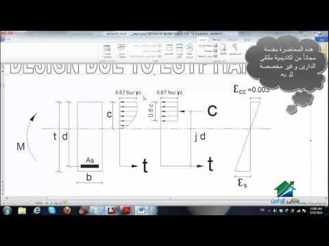 مقارنة الكود المصري بالامريكي في التصميم1| أكاديمية الدارين | محاضرة 12