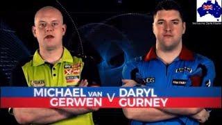 2019 Melbourne Darts Masters  FINAL  van Gerwen vs Gurney