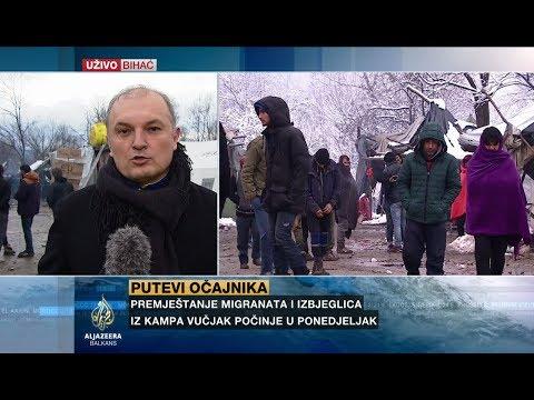 Gagić: Migranti iz Vučjaka ne žele u druge kampove u BiH