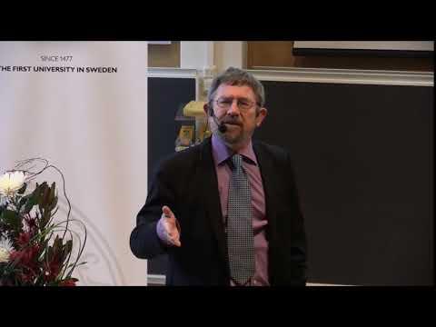 Nobel Laureate in physics J. Michael Kosterlitz – Nobel Lectures in Uppsala 2016