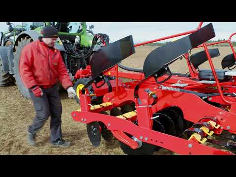 QuickStart – Connecting to tractor – Väderstad Rapid 300-400C/S
