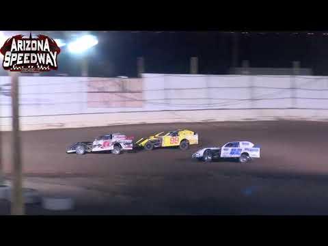 Az Speedway  IMCA SportMod Main    8 28 21 - dirt track racing video image