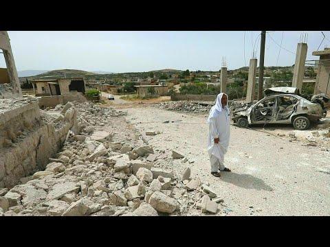 25 قتيلاً جراء المعارك والقصف في شمال غرب سوريا (المرصد)
