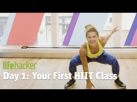 Day 1: Your First HIIT Class