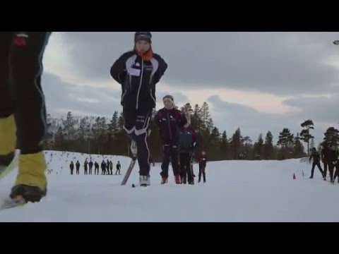 Blågula vindar (träningshelg med Svenska Skidförbundet)