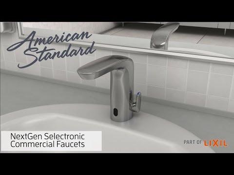 NextGen Selectronic Commercial Faucets - American Standard