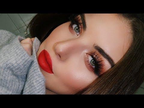 Christmas Makeup Tutorial   Tanya Cheban - UCvIwi6KCreq5bR1S7e6umdQ