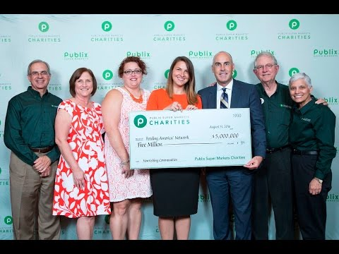 Publix Charities' Donation to the Feeding America® Network
