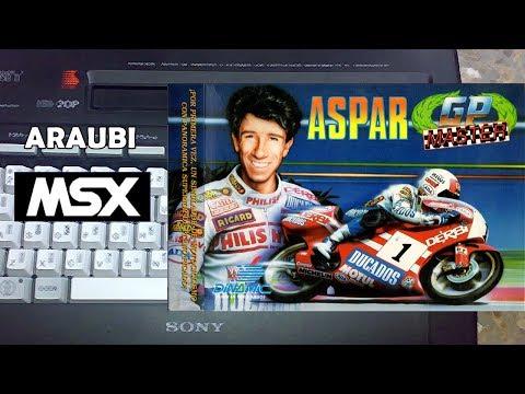 Aspar GP Master (Dinamic, 1988) MSX [055] El Kiosko