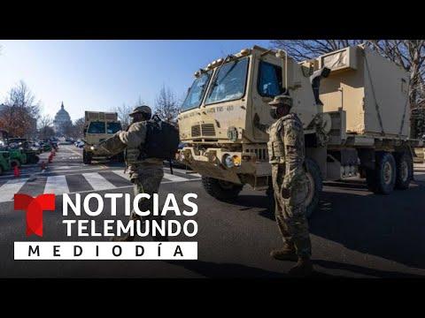 Refuerzan la seguridad en el Capitolio de Washington D.C. previo a la toma de posesión de Biden