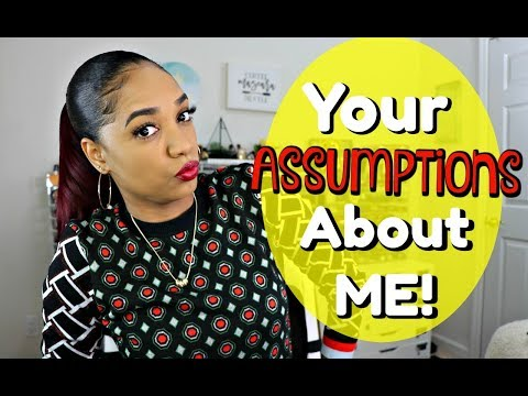 👌Your ASSUMPTIONS About Me ✌ LET'S CHAT!! - UCPWE8QVTHPLqYaCOuqWNvIw