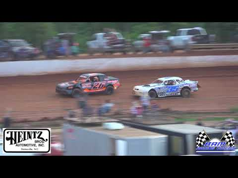 Stock 8 Feature - Lavonia Speedway 6/4/21 - dirt track racing video image