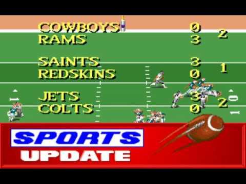 NFL Football (Week 10: Raiders - Dolphins) (Distinctive Software) (MS-DOS) [1992] [PC Longplay]