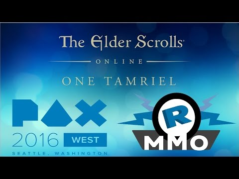 [PAX West 2016] Elder Scrolls Online - One Tamriel Interview