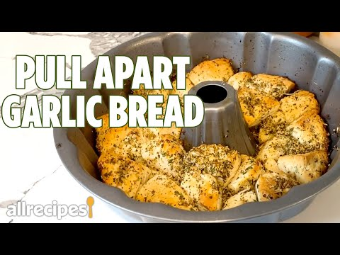 Garlic & Herb Pull Apart Bread | Easy Canned Biscuit Dough Recipe | Allrecipes.com