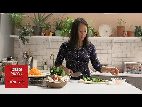 Cô gái người Việt ở Anh thành công nhờ dạy nấu món ăn Việt Nam - BBC News Tiếng Việt