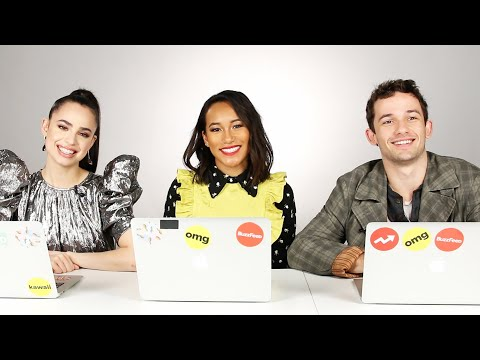 "The Cast of ""PLL: The Perfectionists"" Finds Out Which Characters They Really Are"