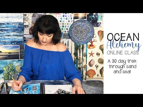 NEW! Online Class Ocean Alchemy preview!