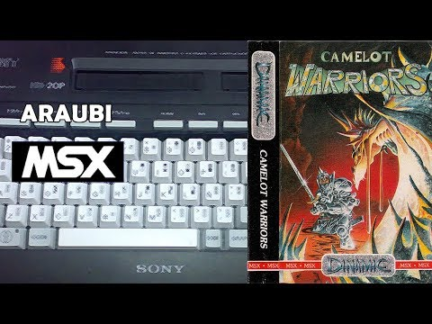 Camelot Warriors (Dinamic, 1986) MSX [019] El Kiosko