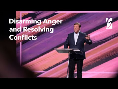 Jimmy Evans  Disarming Anger & Resolving Conflicts  The Four Laws of Love