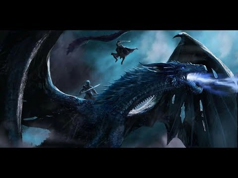 GOT- Jon Snow Flying with Dragon Latest views||Game Of Thrones rund go
