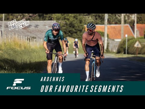 The Ride Beyond Crew's favourite segments in the Ardennes