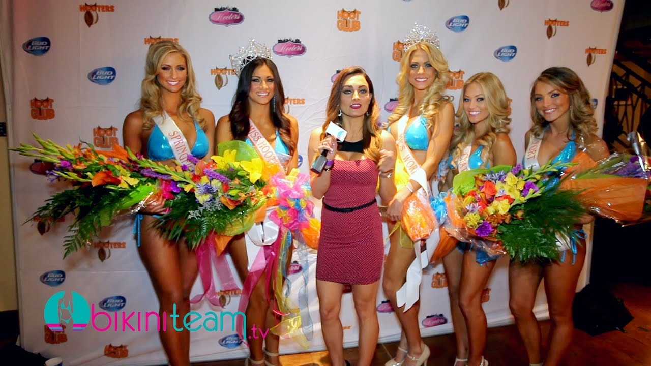 Miss Hooters 2014 Pageant Winners Interviewed by Heather Widle