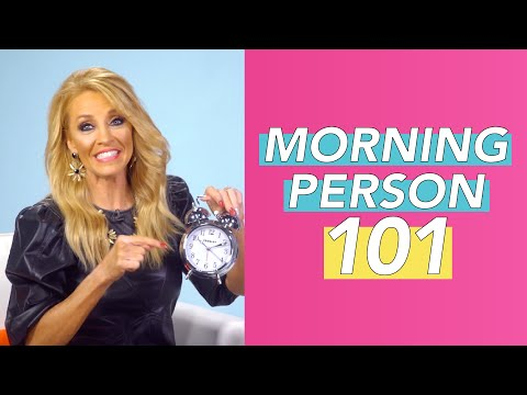 The 1 Hour Realistic Morning Routine  Morning Person 101