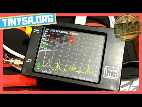 New tinySA is here! How-To Test Your Radio Equipment!