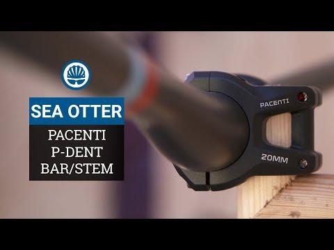 Pacenti P-Dent MTB Bar & Stem - Shaped Bar Allows 20mm Stem!